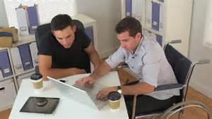 2 white guys working